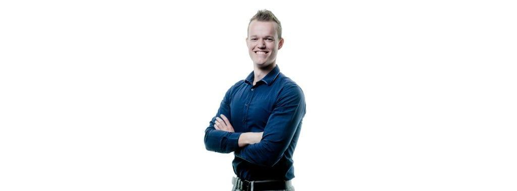 Pim Smit, trainee bij Trebbe