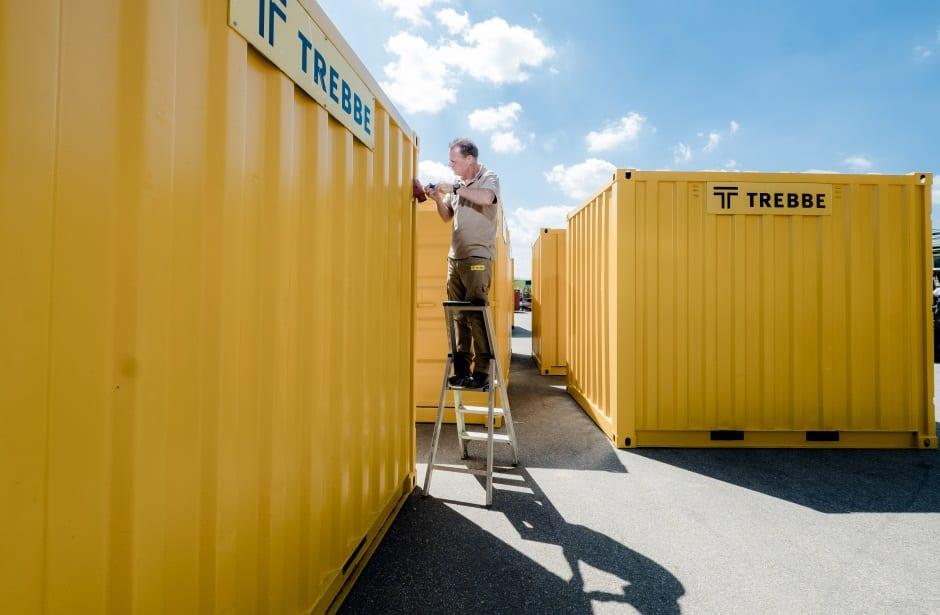 Materiaaldienst bouwbedrijf Trebbe in Enschede - © Fotografie: Martin Hogeboom